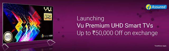 VU Premium UHD 4K Smart TV