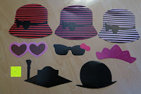 Kopfbedeckung: Ac.y.c 76pcs aus Holz A Stock Photo Booth Props Fun Party Geburtstag Hochzeit