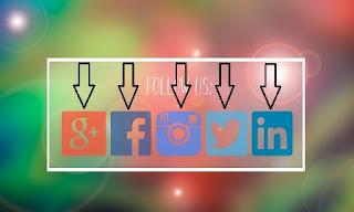 Cara pasang sosial media di blog agar aktif