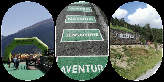 parque de aventuras Naturlandia Andorra