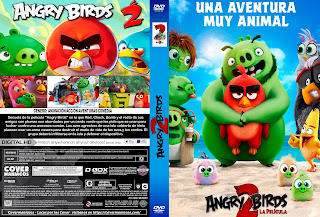 CARATULA ANGRY BIRDS 2 [COVER DVD]