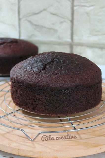 pyszne ciasto kakaowe