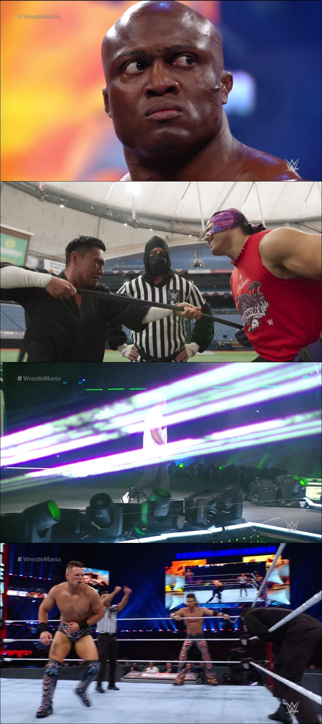 WWE WrestleMania 37 (Noche 1) (2021) HD 1080p Latino