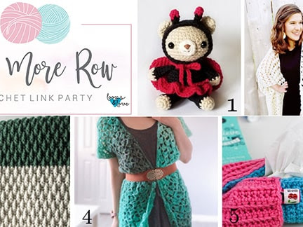 One More Row - Free Crochet Link Party #8