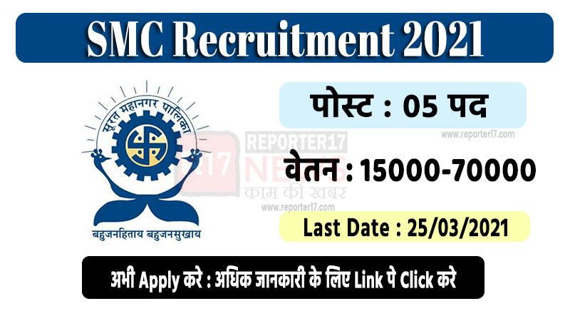 SMC Apprentice Recruitment 2021