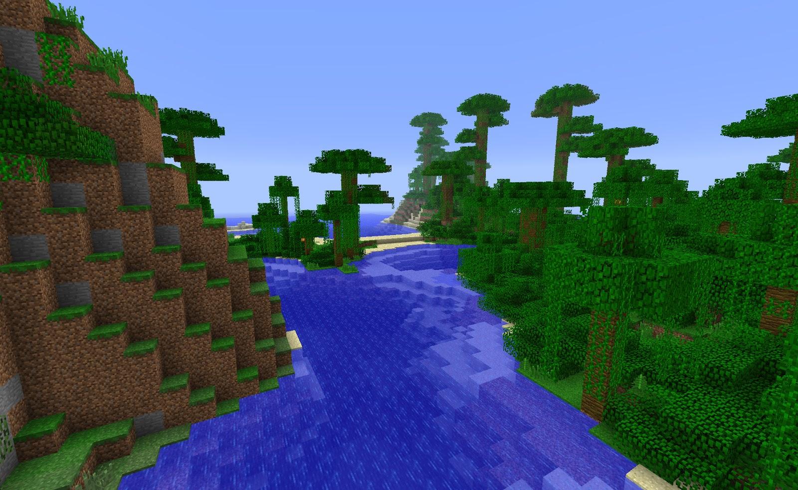 майнкрафт 1 9 0 ключ для генирації світу джунгли #9