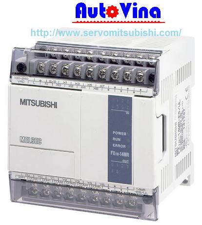 Đại lý bán PLC PLC Mitsubishi FX1S-14MR, nhà phân phối thiết bị Servo, PLC hãng Mitsubishi