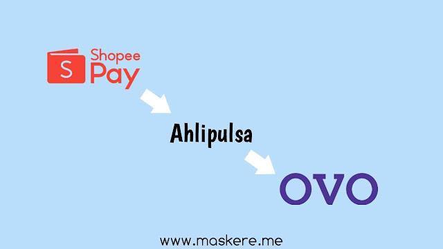 Top Up OVO dengan saldo ShopeePay di Ahlipulsa