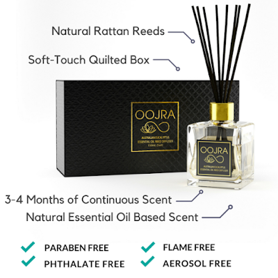 Oojra products are free of parabens #ad