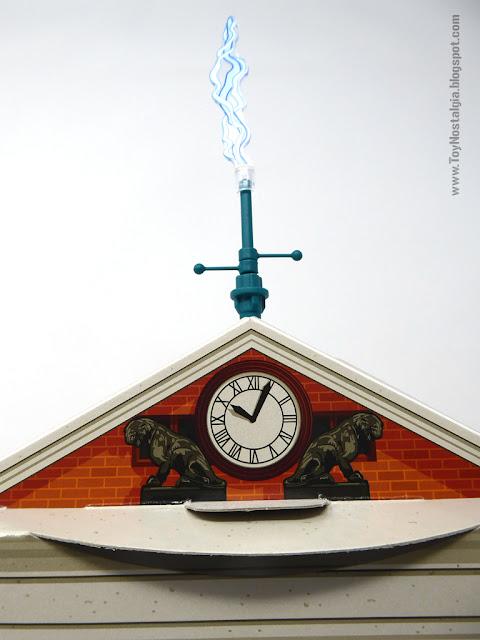 Reloj de la Torre con pararrayos Playmobil Regreso al Futuro - Calendario de Adviento (Playmobil Back To The Future - Calendario de Adviento)
