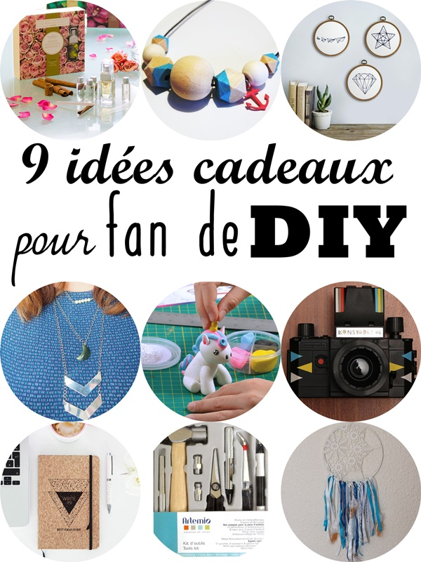 9 idées cadeaux pour fan de DIY