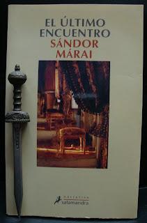 Portada del libro El último encuentro, de Sándor Márai