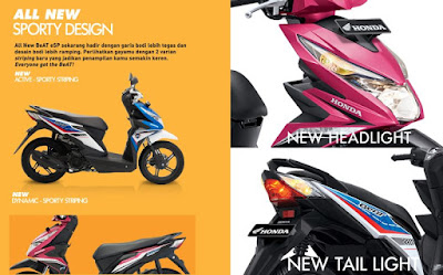 All New Honda BeAT eSP 2016 Tampilan Terbaru