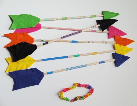 flechas-indios-fieltro