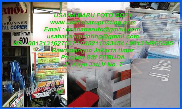 Jasa Fotocopy Dan Cetak Buku Di Jakarta