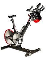 Keiser M3iX Indoor Cycle Spin Bike, with pivoting X-bars, belt-drive, eddy current magnetic resistance