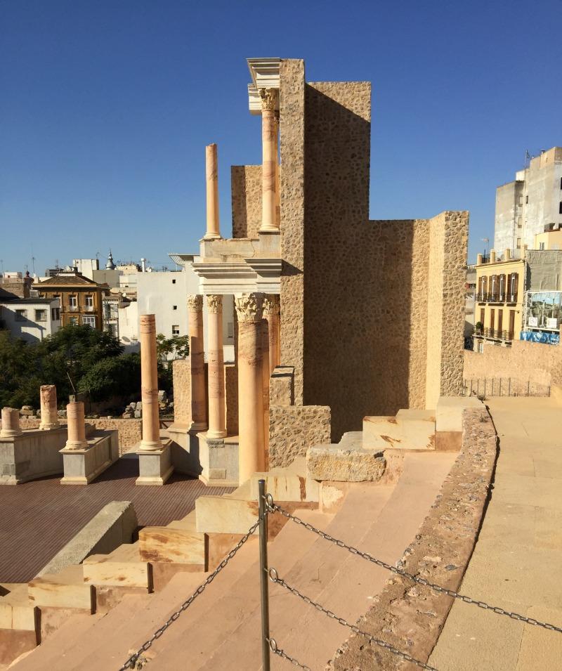 Roman theatre, Cartagena Spain