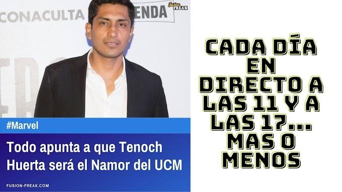 Todo apunta a que Tenoch Huerta será el Namor del UCM