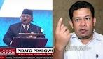 Usai Lihat Prabowo Pidato, Fahri Hamzah : Maaf Pak Prabowo, Bapak Gagal..!