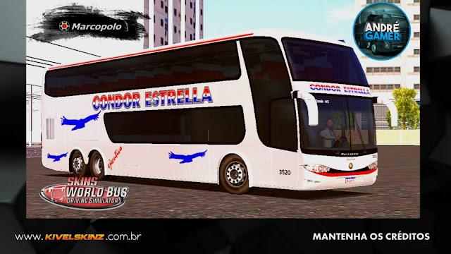 PARADISO G6 1800 DD - VIAÇÃO CONDOR ESTRELLA (ARGENTINA)