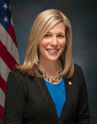 The Senate Secretary-General Julie E. Adams