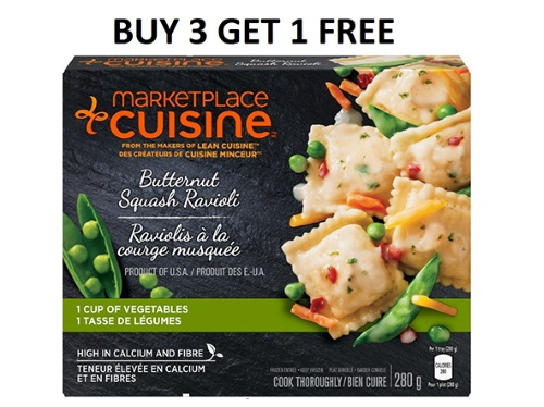 Lean Cuisine Buy 3 Get 1 Free Coupon