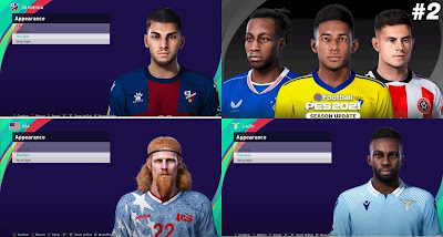 PES 2021 Facepack 2 by Yeshua