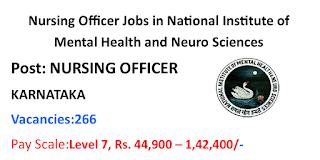 Nursing Officer Jobs in Karnataka June 2020-266 Vacancies
