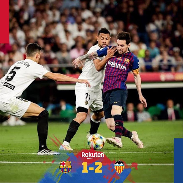 1 Barcelona vs 2 Valencia: 2019 Copa del Rey Final