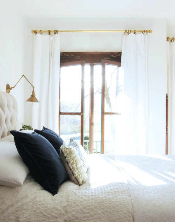 Beautiful and calm bedroom makeover