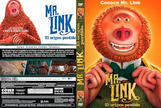 MR. LINK EL ORIGEN PERDIDO – MISSING LINK – 2019 [COVER – DVD]