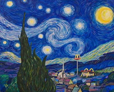 Starry Night Parody