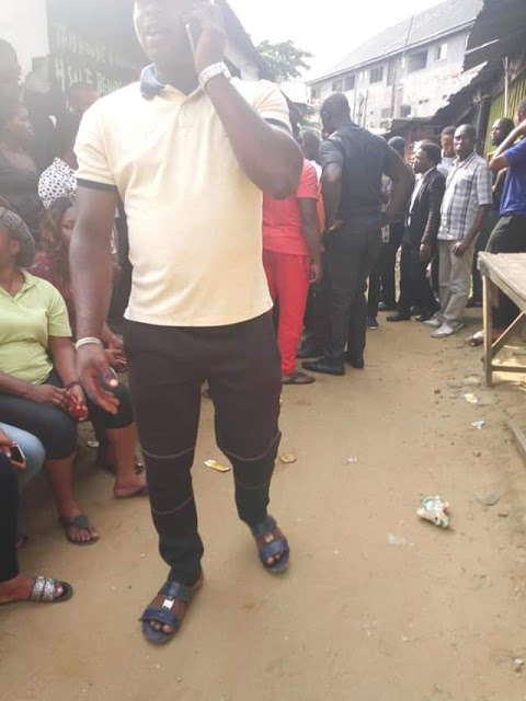 Photos: Nigerian Man slaughters his pregnant girlfriend in Rivers State, buries her body inside his apartment
