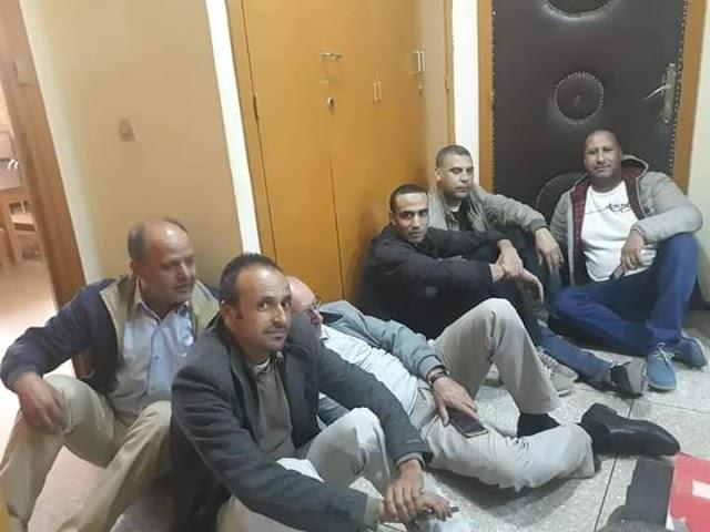 اعتصام داخل مقر  المديرية الإقليمية بأزيلال