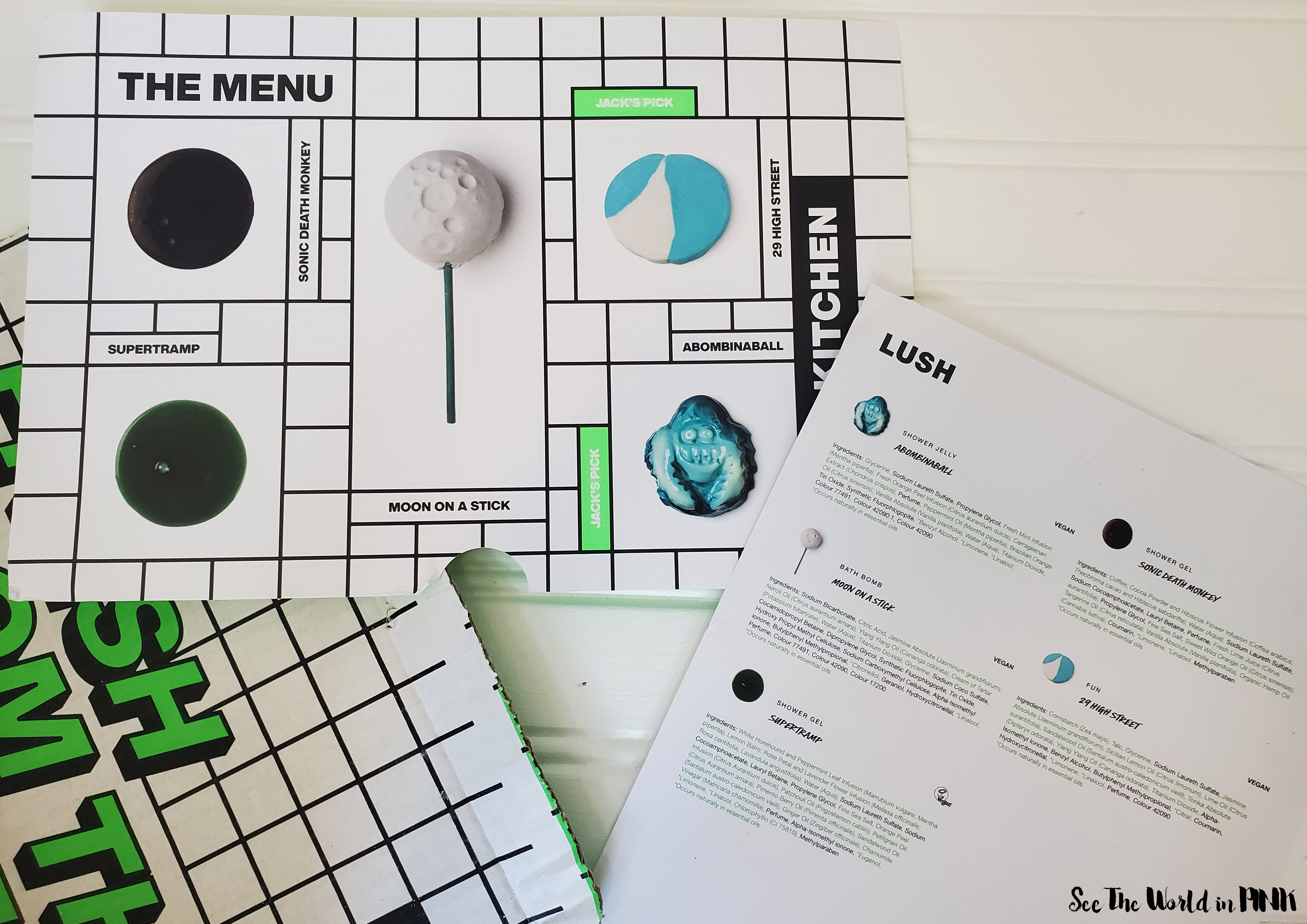 May 2020 - Lush Kitchen Subscription Box