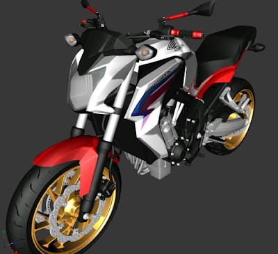 GTA SA - CB 650F EDIT