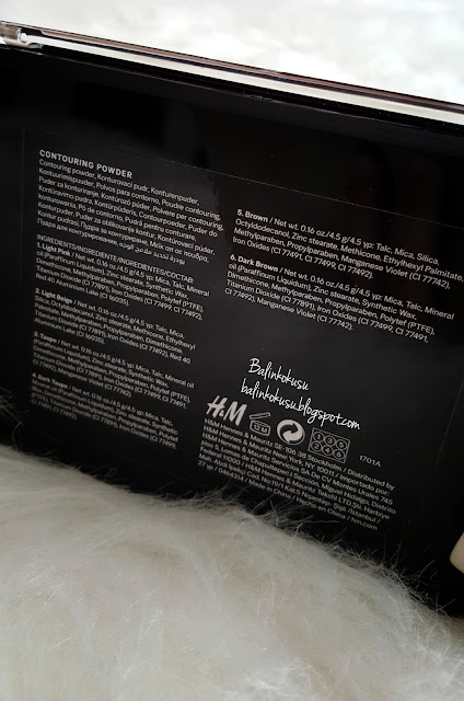 H&M kontur paleti