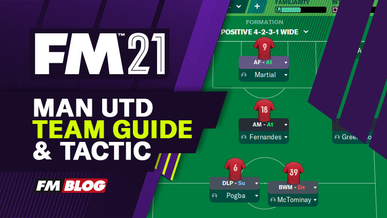 Football Manager 2021 Manchester United Tactic | Team Guide | FM21