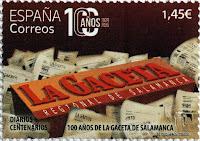 100 AÑOS DE LA GACETA DE SALAMANCA