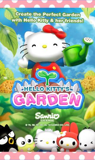 Download Game Hello Kitty Garden
