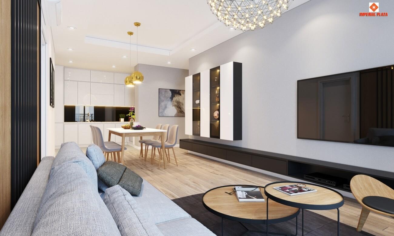 Đầu tư căn hộ Imperial Plaza để cho thuê