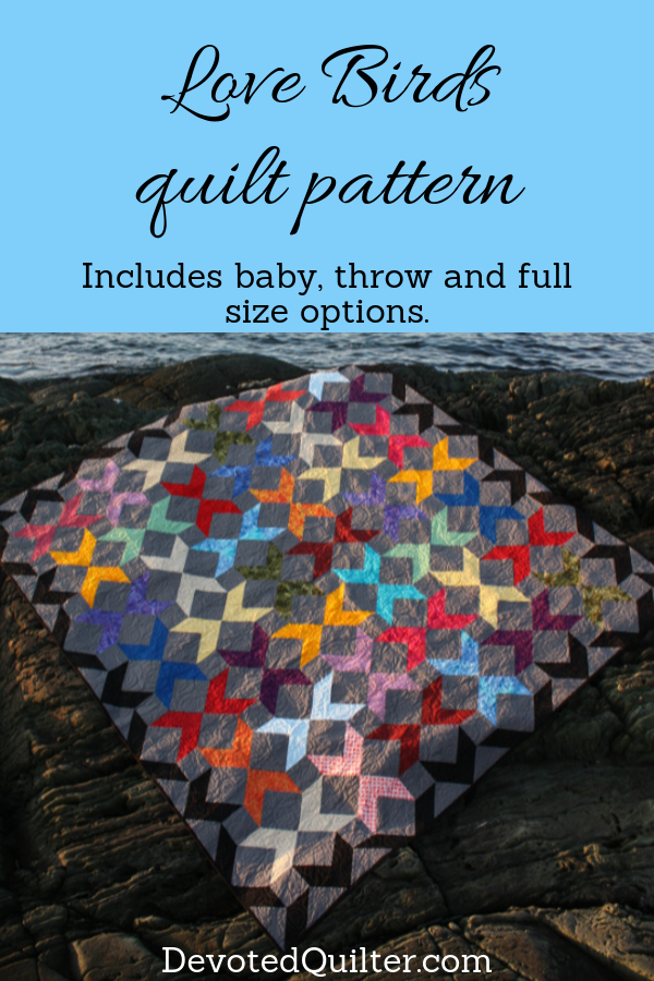 Love Birds quilt pattern | DevotedQuilter.com