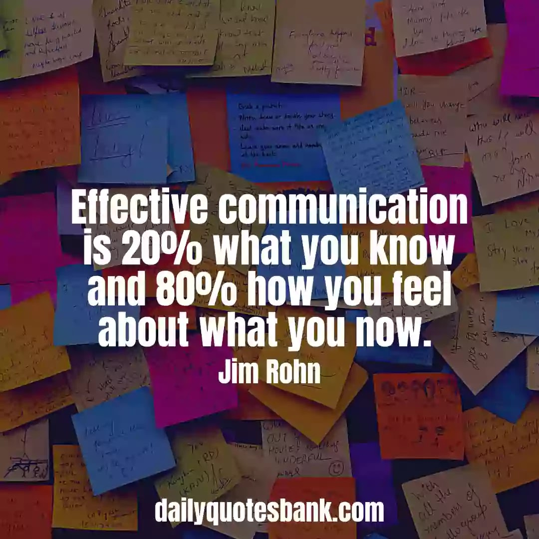 Effective Team Communication Quotes For The Workplace