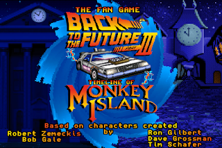 Back to the Future Part III: Timeline of Monkey Island - Fan Game