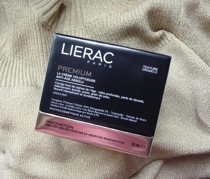 Lierac PREMIUM La Creme Voluptueuse  Odżywczy krem przeciwstarzeniowy