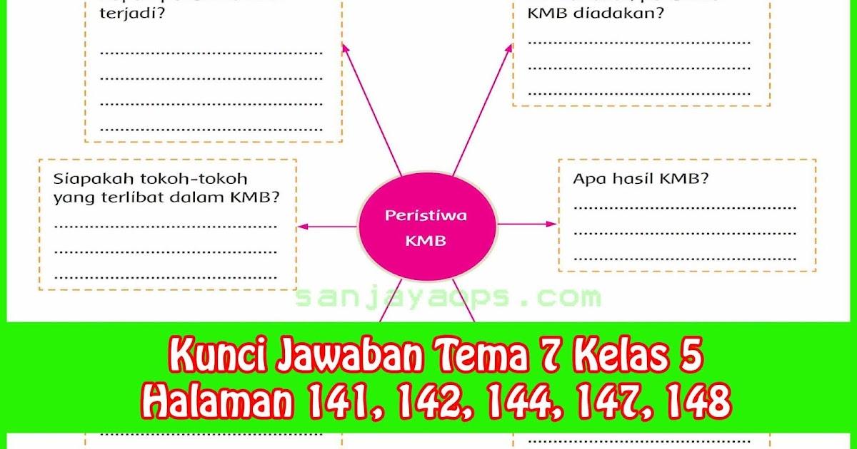 Kunci Jawaban Tema 7 Kelas 5 Halaman 141 142 144 147 148 Sanjayaops