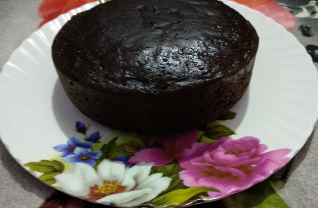 Egg less chocolate cake