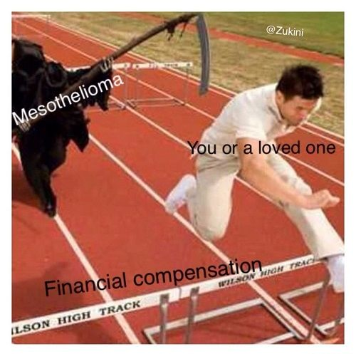 mesothelioma meme copy and paste