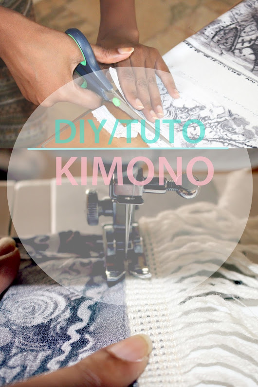 DIY/TUTORIAL: How to make a Kimono 2