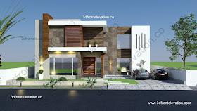 3d Front Elevationcom Modern Arabic Villa Design Qatar